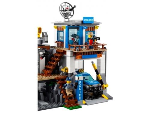 Конструктор LEGO CITY  60174 Полицейский участок в горах (663 детали), вид 5