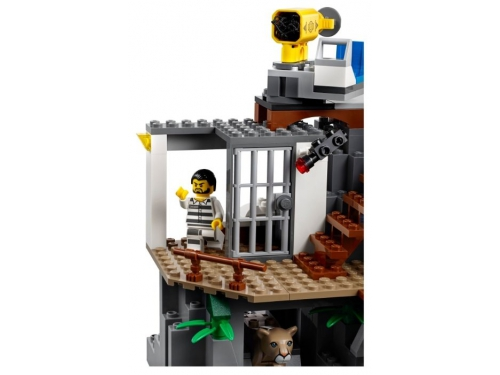 Конструктор LEGO CITY  60174 Полицейский участок в горах (663 детали), вид 6