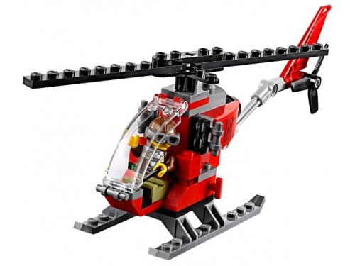 Конструктор LEGO CITY  60174 Полицейский участок в горах (663 детали), вид 8