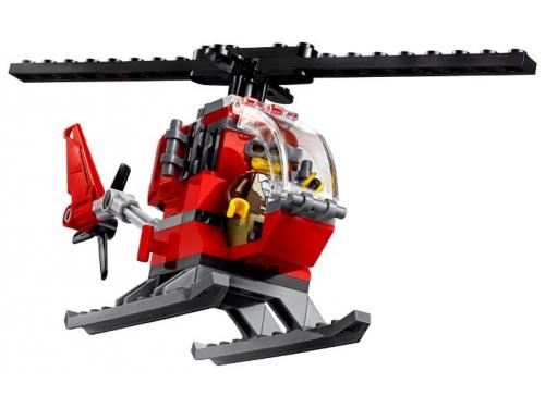 Конструктор LEGO CITY  60174 Полицейский участок в горах (663 детали), вид 9