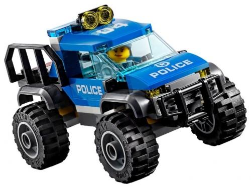Конструктор LEGO CITY  60174 Полицейский участок в горах (663 детали), вид 10