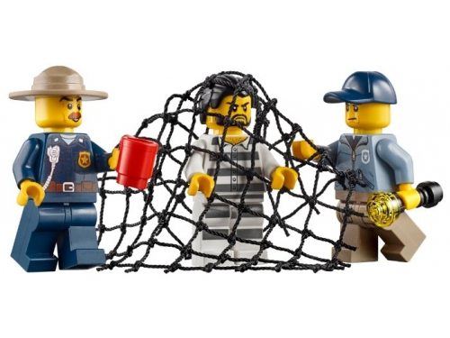 Конструктор LEGO CITY  60174 Полицейский участок в горах (663 детали), вид 11