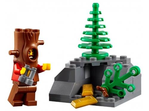 Конструктор LEGO CITY  60174 Полицейский участок в горах (663 детали), вид 12
