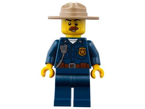Конструктор LEGO CITY  60174 Полицейский участок в горах (663 детали), вид 13