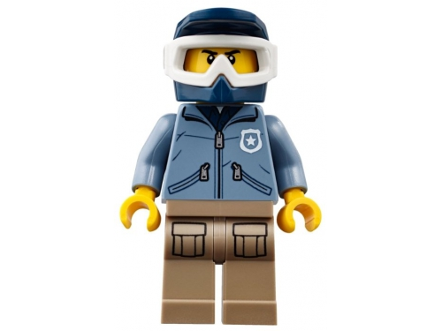 Конструктор LEGO CITY  60174 Полицейский участок в горах (663 детали), вид 15