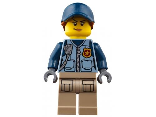 Конструктор LEGO CITY  60174 Полицейский участок в горах (663 детали), вид 16