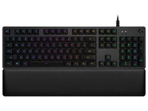 Клавиатура Logitech Gaming Keyboard G513 Carbon Mechanical Romer-G Linear (920-008856), вид 1