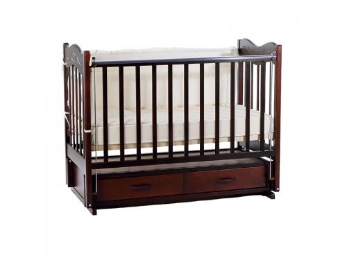 Детская кроватка Ведрусс Милена, вишня, вид 2
