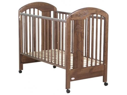 Детская кроватка Fiorellino Fiore 12347 орех, вид 2