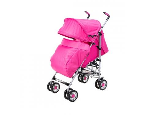 Коляска Liko Baby BT109 City Style, розовая, вид 1