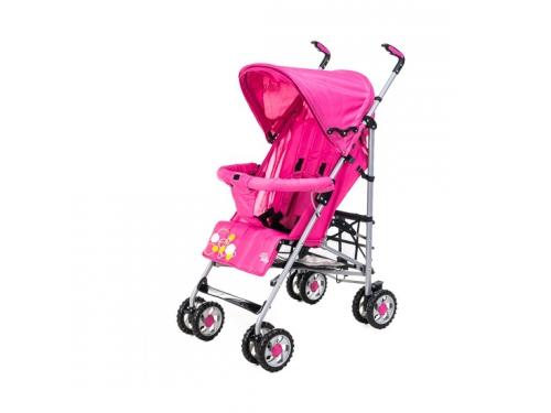 Коляска Liko Baby BT109 City Style, розовая, вид 4