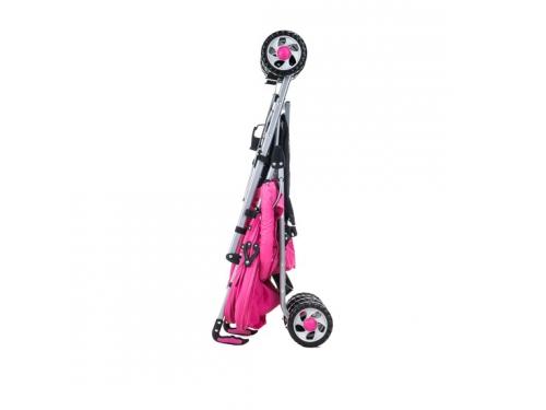 Коляска Liko Baby BT109 City Style, розовая, вид 5