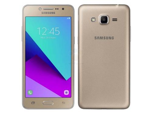 Смартфон Samsung Galaxy J2 Prime SM-G532, золотистый металлик, вид 1