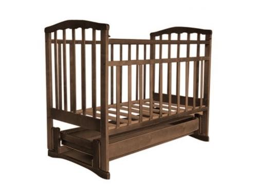Детская кроватка Агат Золушка-6, орех, вид 1