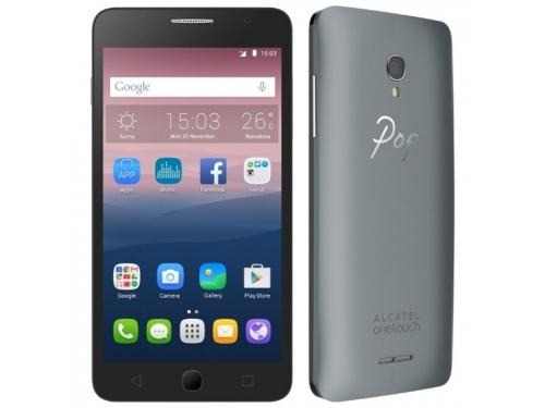 Смартфон Alcatel One Touch Pop Star 4G 8Gb, серебристый, вид 3