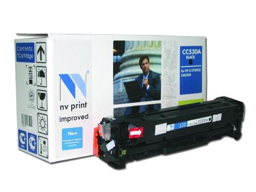Картридж NV-Print для НР №304А (CC530A) Black, вид 1