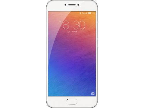 Смартфон Meizu Pro 6 32Gb, серебристо-белый, вид 4