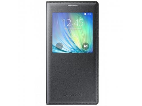 Чехол для смартфона Samsung для Samsung Galaxy A7 S View, черный, вид 1