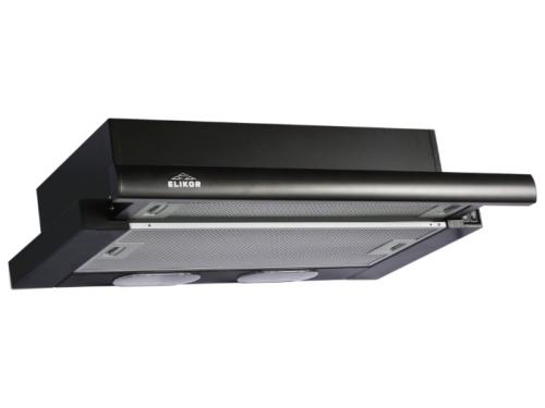 Вытяжка кухонная Elikor Интегра 60П-400-В2Л черный/черный, вид 1