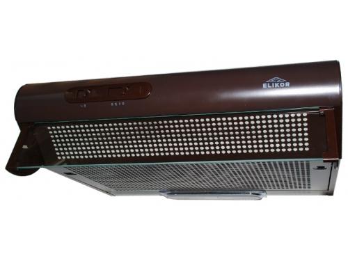 Вытяжка кухонная козырьковая Elikor Davoline 50П-290-П3Л коричневый, вид 1