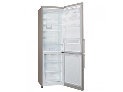 Холодильник LG GA-B489 ZECL, бежевый, вид 2