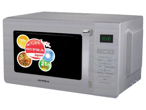 Микроволновая печь Supra MWS-2103SS (соло), вид 1