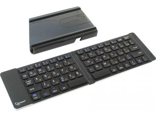 Клавиатура Gembird KB-400BT (Bluetooth, складная, для мобильных устройств), вид 2