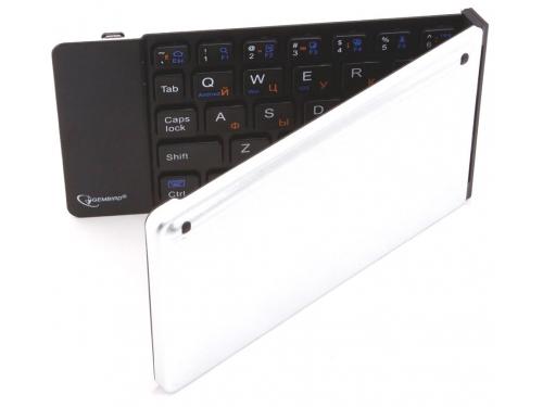 Клавиатура Gembird KB-400BT (Bluetooth, складная, для мобильных устройств), вид 3