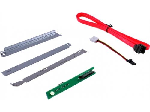 Кабель (шнур) miniSATA SUPERMICRO,MCP-220-81502-0N, Slim SATA DVD kit (крепление), вид 2