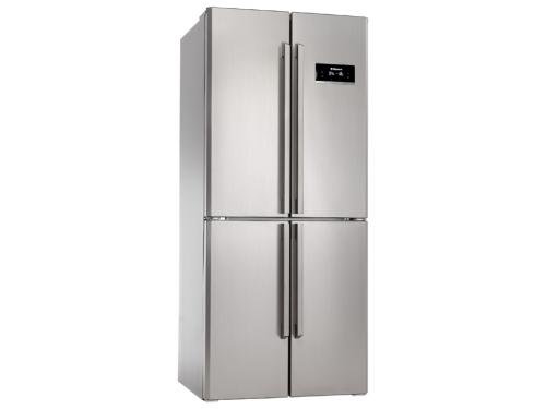 Холодильник Hansa FY408.3DFX серебристый, вид 1