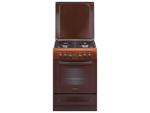 Плита Gefest 6102-03 0001, коричневая, вид 1