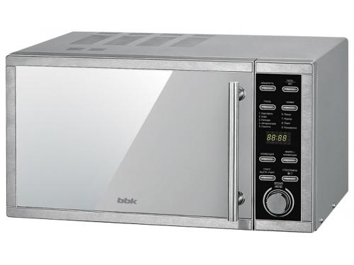 Микроволновая печь BBK 25MWC-990T/S-M, серебристая, вид 1