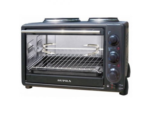 Мини-печь, ростер Supra MTS-342 34л. 1600Вт черная, вид 1