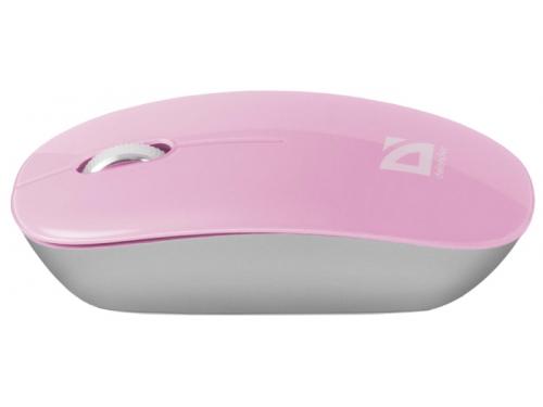 Мышь Defender Laguna MS-245, розовая, вид 1