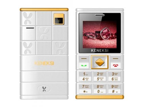 Сотовый телефон Keneksi Art, белый, вид 1