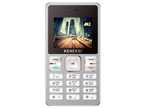 Сотовый телефон Keneksi M2, серебристый, вид 1