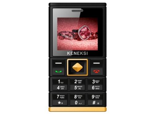 Сотовый телефон Keneksi Art, черный, вид 1