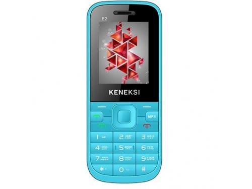 Сотовый телефон Keneksi E2, синий, вид 1