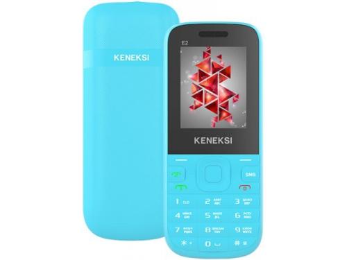 Сотовый телефон Keneksi E2, синий, вид 3