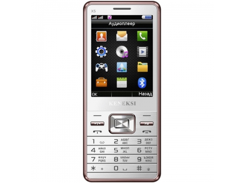 Сотовый телефон Keneksi X5, белый, вид 1