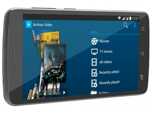 Смартфон Archos,52 Platinum, черный, вид 4
