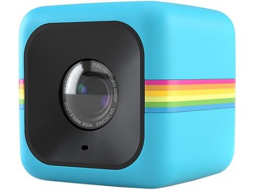 Видеокамера Polaroid Cube+, синий, вид 1