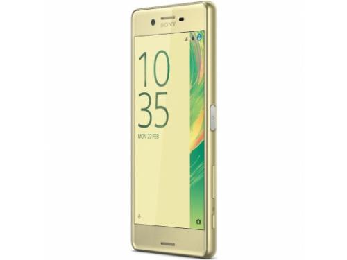 Смартфон Sony Xperia X F5121, золотистый, вид 4