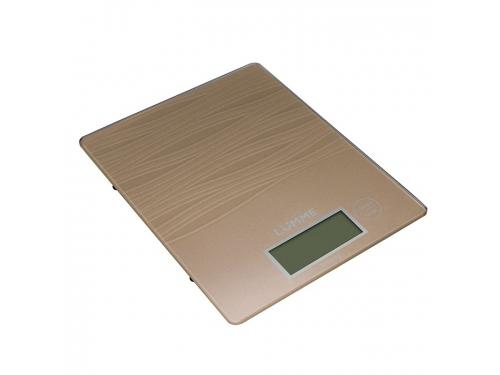 Кухонные весы Lumme LU-1318, сияющая бронза, вид 1