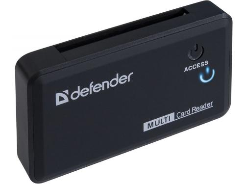 Устройство для чтения карт памяти Defender Optimus USB 2.0, 5 слотов, вид 2