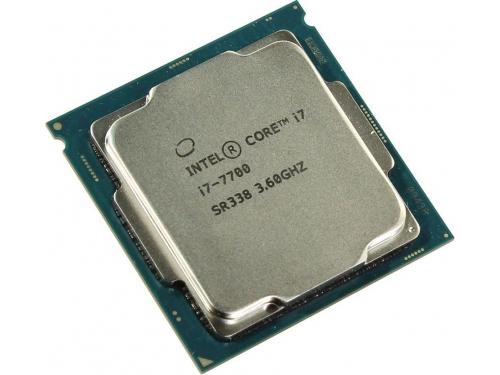 Процессор Intel Core i7-7700 Kaby Lake (3600MHz, LGA1151, L3 8192Kb, Retail), вид 2