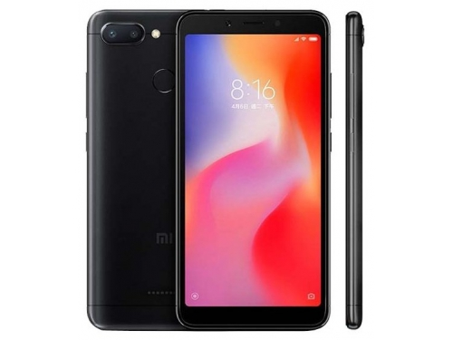Смартфон Xiaomi Redmi 6 3/32Gb, черный, вид 1