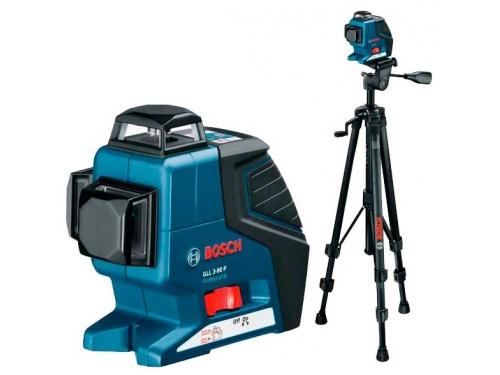 Нивелир Bosch GLL 3-80 P Professional + BT 150 Professional (0601063306) лазерный, вид 1