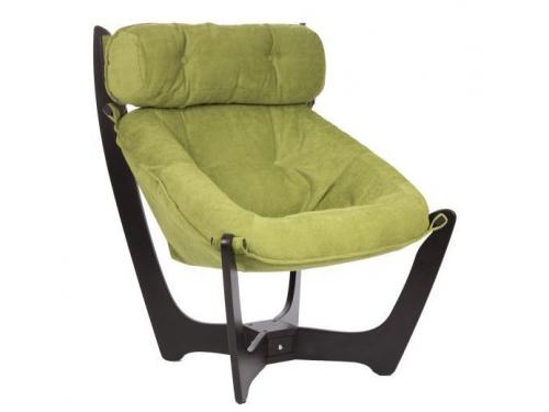 Кресло мягкое Мебель Импэкс Модель 11 каркас венге, обивка Verona Apple green, вид 1