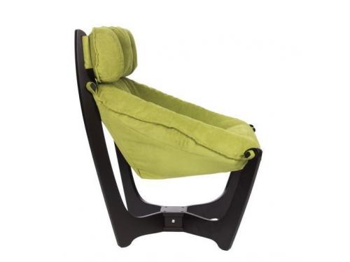 Кресло мягкое Мебель Импэкс Модель 11 каркас венге, обивка Verona Apple green, вид 2